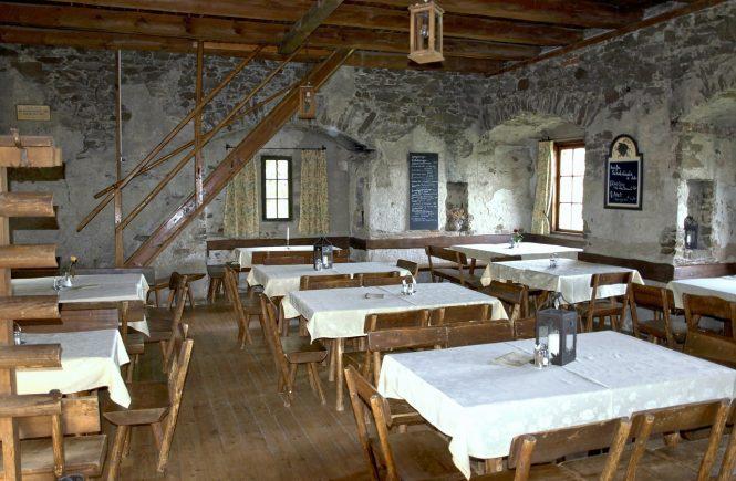Innenausrichtung Restaurant